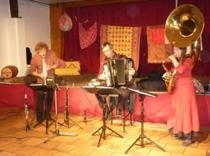 Trio NOMAZI Concert musique du monde