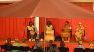 Spectacle percussions africaines
