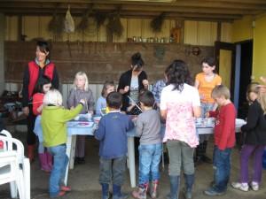Atelier l'Art au jardin : A vos pinceaux
