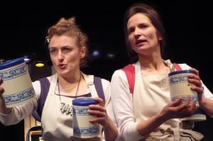 Marie-Noël Bordenave et Marie-Hélène Peyresaubes
